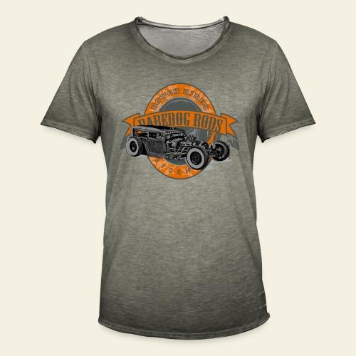 Raredog Rods Logo - Herre vintage T-shirt