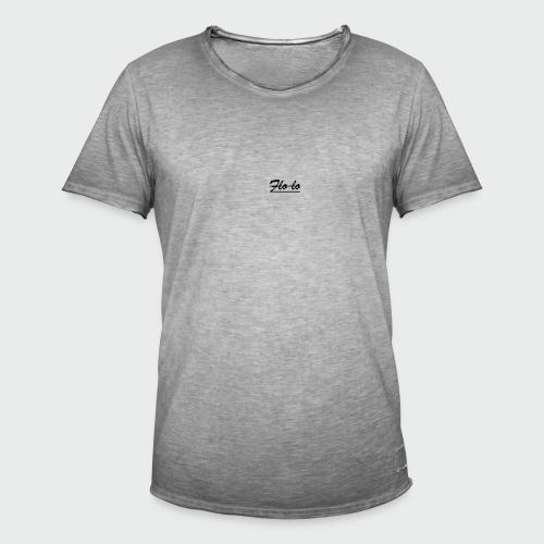 flolo durchgestrichen - Männer Vintage T-Shirt