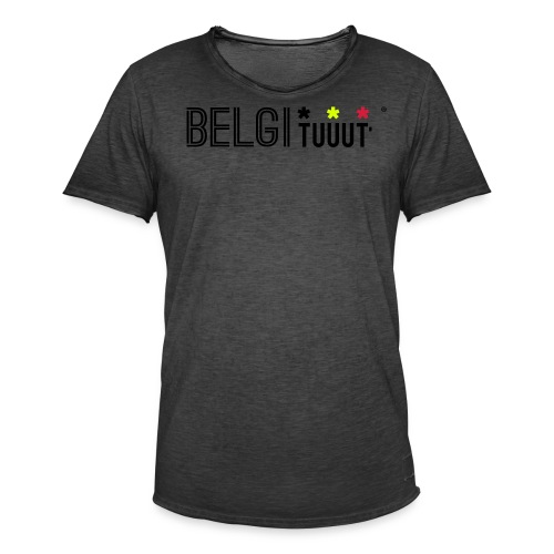 belgituuut - T-shirt vintage Homme