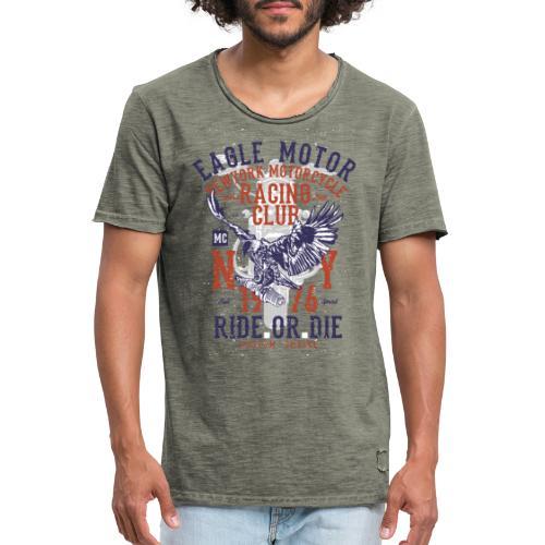 Eagle Motor Tazzum - Camiseta vintage hombre
