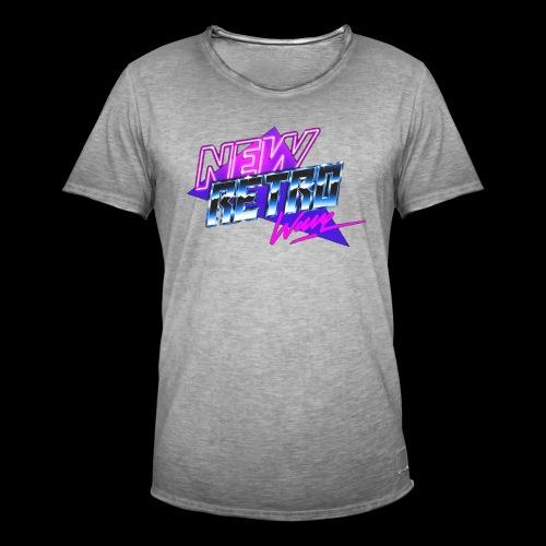 New Retro Wave - Mannen Vintage T-shirt