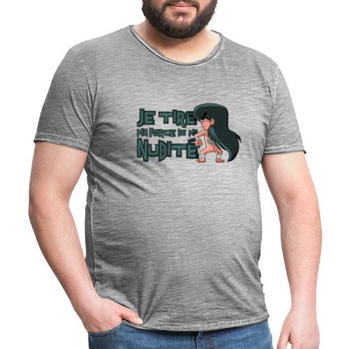 Shiryû - Nudité - T-shirt vintage Homme