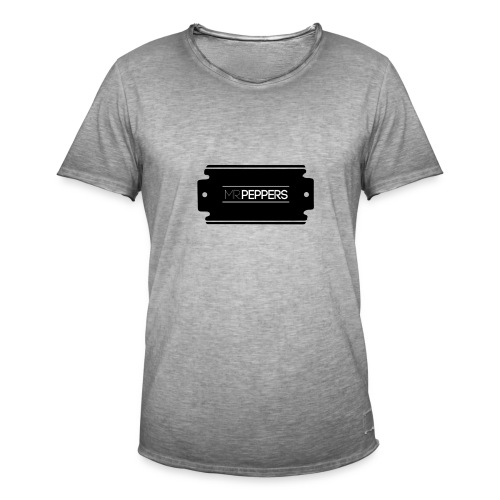 MR PEPPERS Logo classic - Männer Vintage T-Shirt