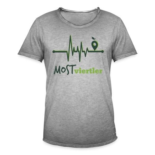 Mostviertler Herzschlag - Männer Vintage T-Shirt