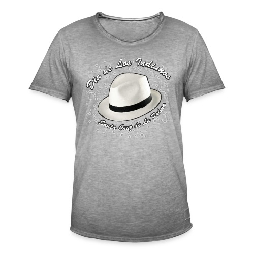 Dia de Los Indianos - Männer Vintage T-Shirt