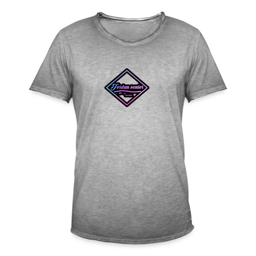 jordan sennior logo - Men's Vintage T-Shirt