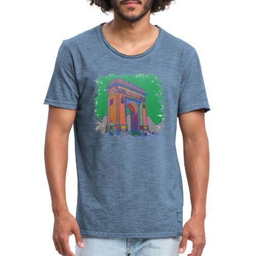 Bukarest - Männer Vintage T-Shirt