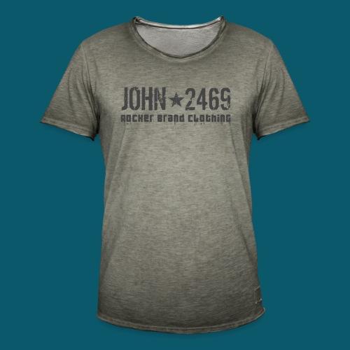 JOHN2469 prova per spread - Maglietta vintage da uomo