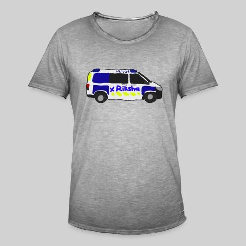 poliisiauto - Miesten vintage t-paita