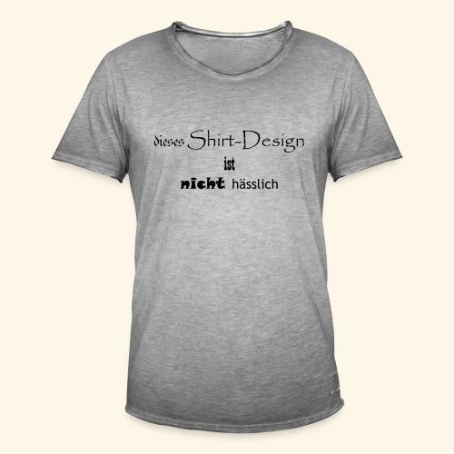 test_shop_design - Männer Vintage T-Shirt