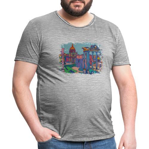 Rom - Männer Vintage T-Shirt