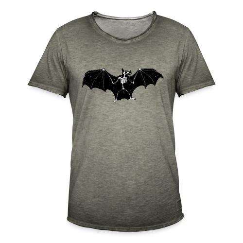 Bat skeleton #1 - Men's Vintage T-Shirt