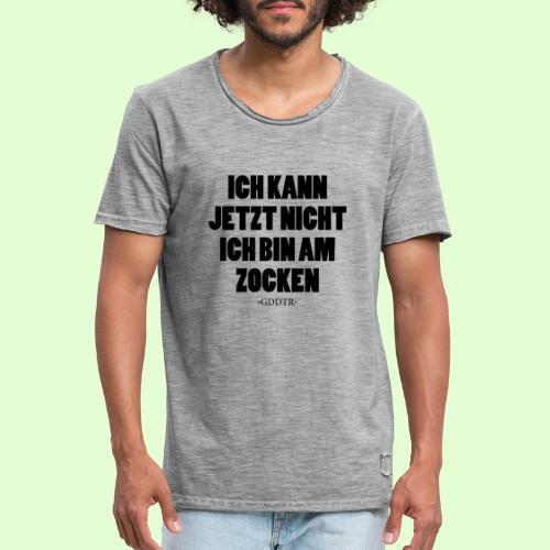 Kann jetzt nicht - Männer Vintage T-Shirt