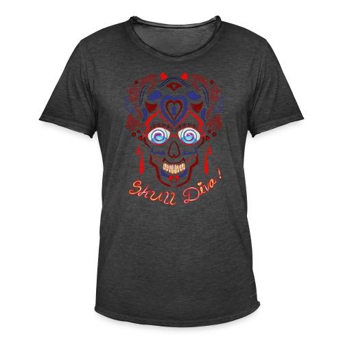 Skull Tattoo Art - Men's Vintage T-Shirt