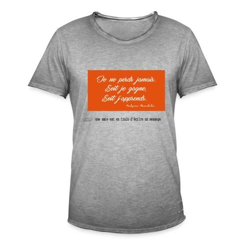 proverbe 1.1 - T-shirt vintage Homme
