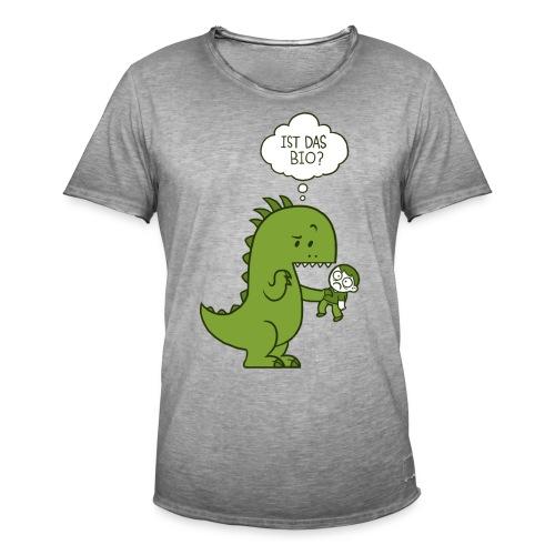 Bio-Dinosaurier - Männer Vintage T-Shirt