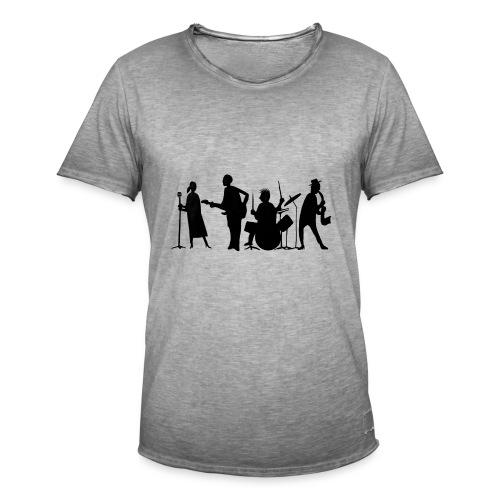 jazz - Miesten vintage t-paita