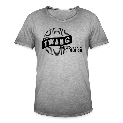 Velvetone Twang Supreme #3 - Männer Vintage T-Shirt