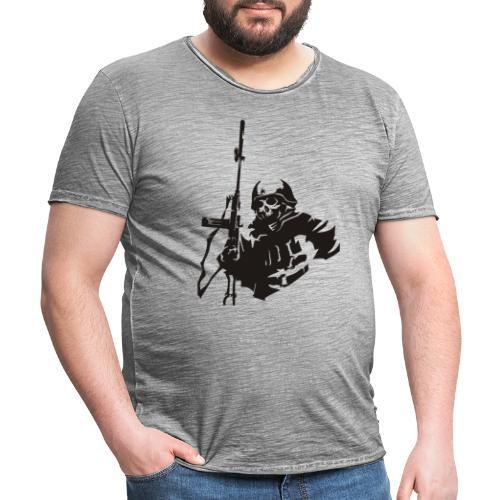 Skull Warrior - Men's Vintage T-Shirt