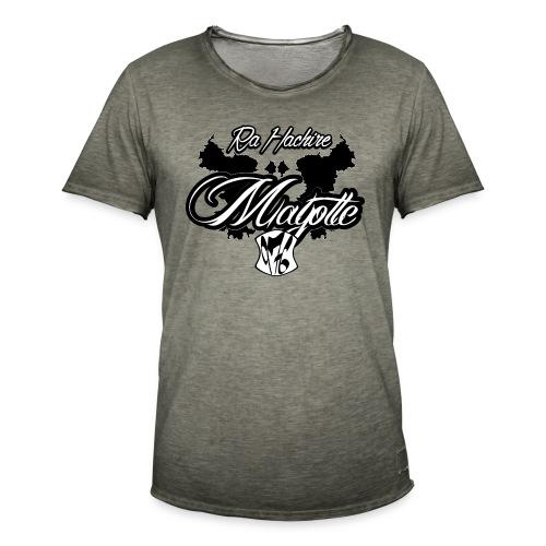RA HACHIRI - T-shirt vintage Homme