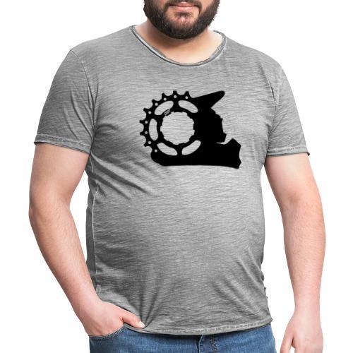 Black & White - Cunt - Männer Vintage T-Shirt