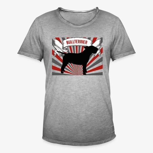 Bullterrier - Männer Vintage T-Shirt