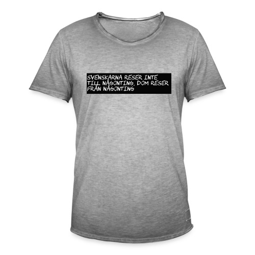 Sällskapsresan - Vintage-T-shirt herr