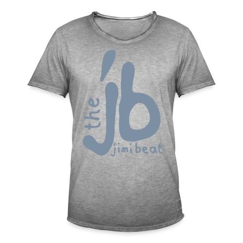 logo jb vektor_black_noci - Männer Vintage T-Shirt