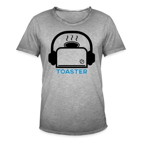 Toaster Logo - Miesten vintage t-paita