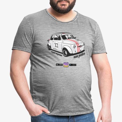 Guida con la TAZZA - Maglietta vintage da uomo