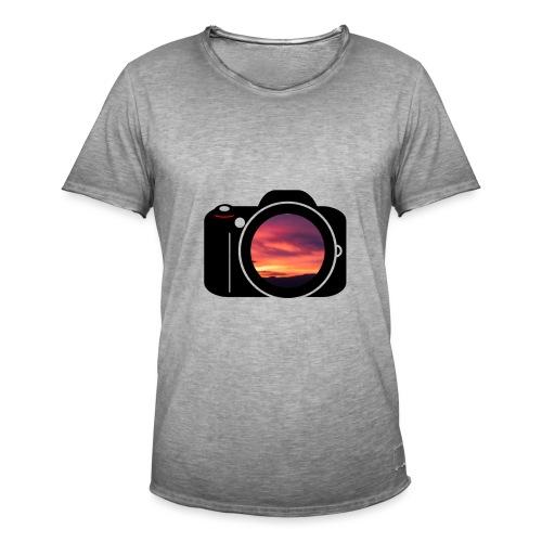 Kamera - Männer Vintage T-Shirt