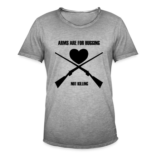 Arms are for hugging - Herre vintage T-shirt
