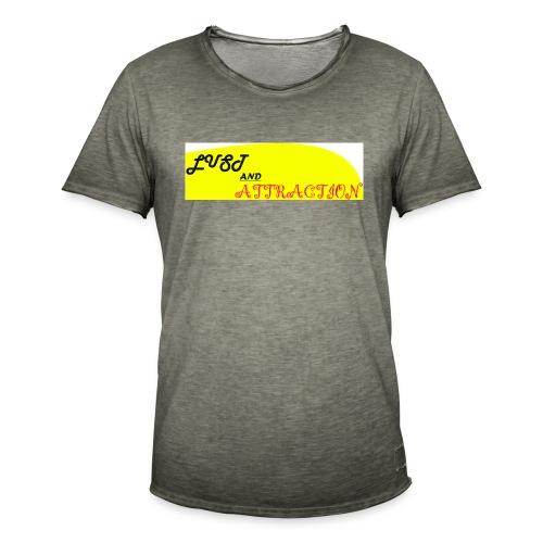 lust ans attraction - Men's Vintage T-Shirt