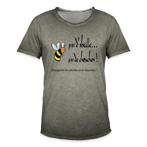 Pas d'abeille, pas de chouchen - T-shirt vintage Homme