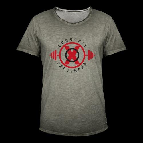 Crossfit Järvenpää - Miesten vintage t-paita
