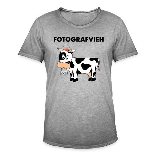 Fotografvieh - Männer Vintage T-Shirt