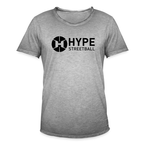 DC HYPE 001 Logo Official FINAL Black HORI - Men's Vintage T-Shirt