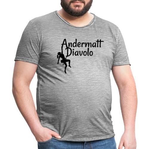 Andermatt Diavolo Uri Geschenkidee - Männer Vintage T-Shirt