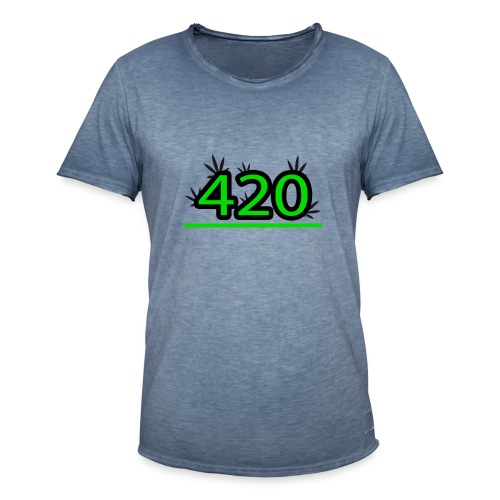 420 - T-shirt vintage Homme