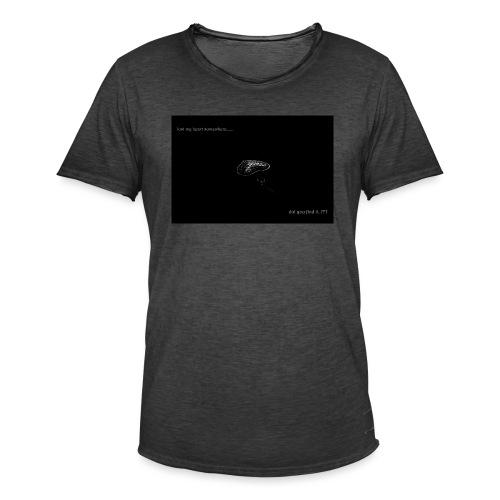Lost Ma Heart - Men's Vintage T-Shirt