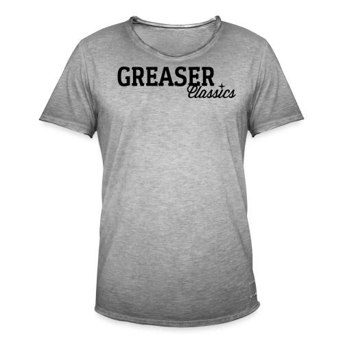 GC_Schriftzug_Logo - Männer Vintage T-Shirt