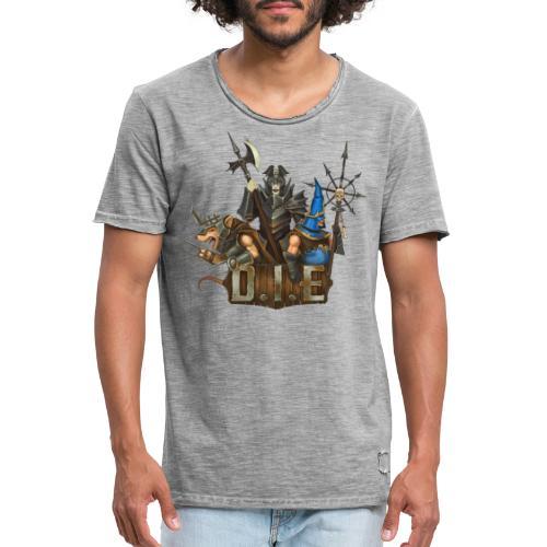 THE logo - Evil Characters - Men's Vintage T-Shirt