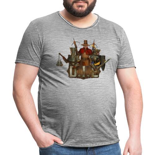 THE logo - Good Characters - Men's Vintage T-Shirt