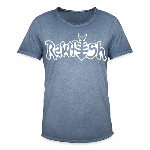 rawfishlogoclean - Vintage-T-shirt herr