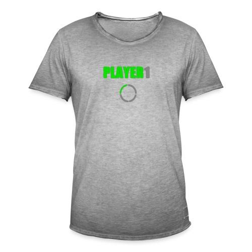 PLAYER 1 VideoJuegos - Camiseta vintage hombre