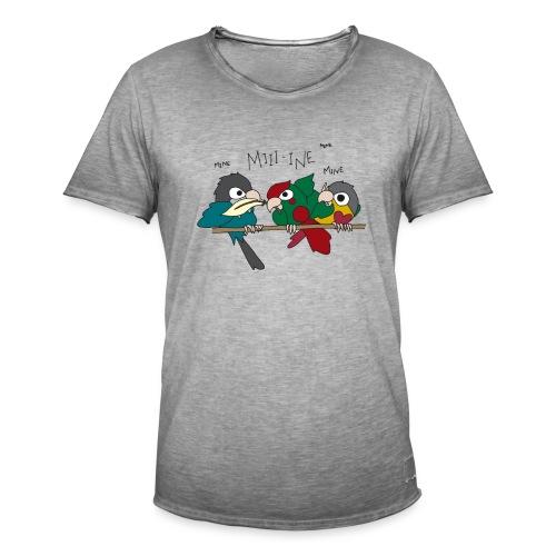 Feather Wars - Men's Vintage T-Shirt