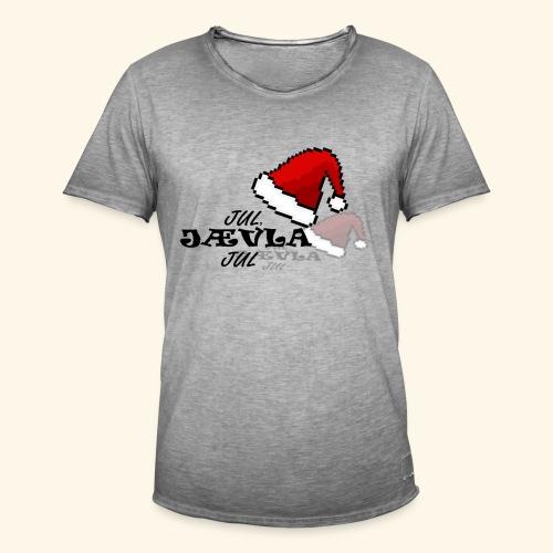 Jul, Jævla Jul! - Vintage-T-skjorte for menn