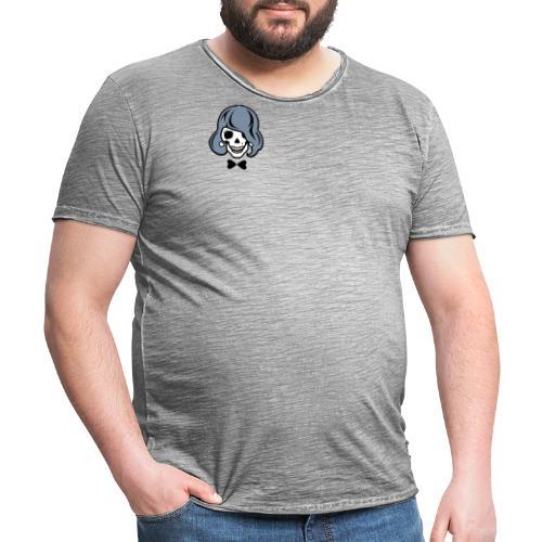 Skelett zum Haare färben - Männer Vintage T-Shirt