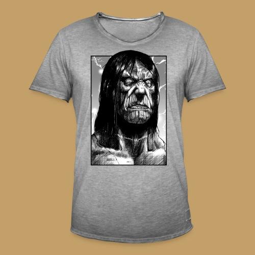 Frankenstein's Monster - Koszulka męska vintage