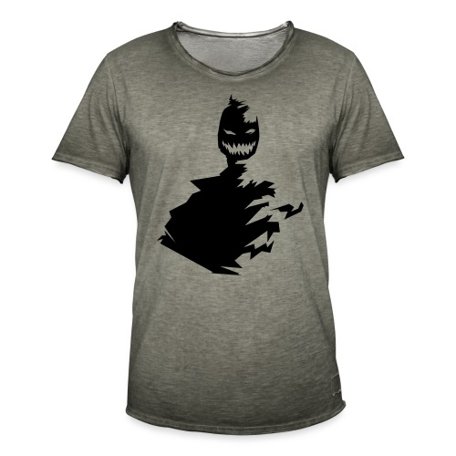 t shirt monster (black/schwarz) - Männer Vintage T-Shirt